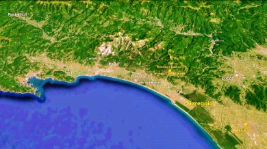 Viareggio Map 1 Google Earth