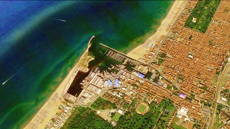 Viareggio Map 5 Google Earth