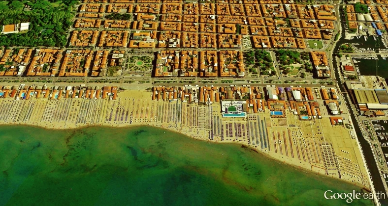 Viareggio Map 7 Google Earth