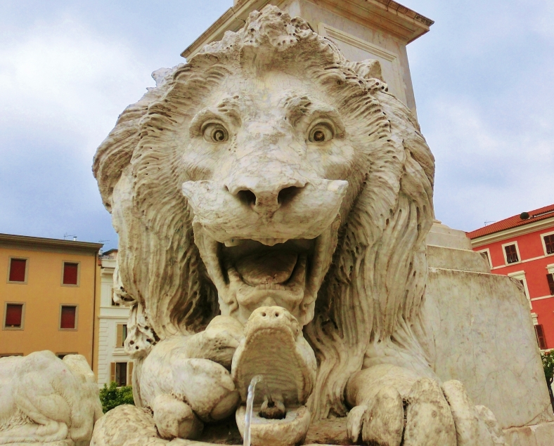 Massa Lions, The Bold One, Tuscany, Italy