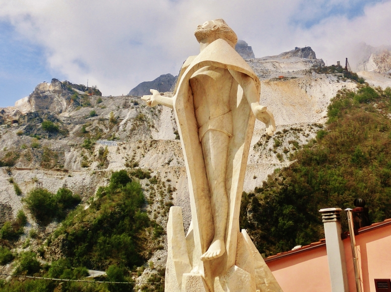 Colonnata, Carrara, Italy