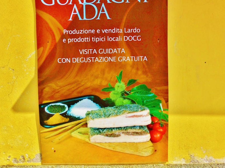 Colonnata, Lard Capitol of the World, Carrara, Italy