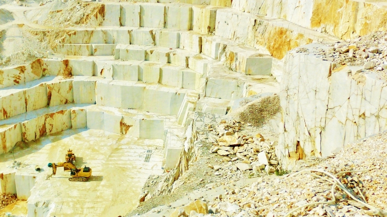 Carrara Marble Quarries along the North West Tuscan Way