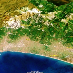 Colonnata Map 1 Google Earth
