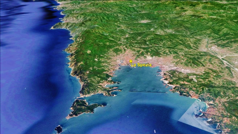 La Spezia Map 4 Google Earth