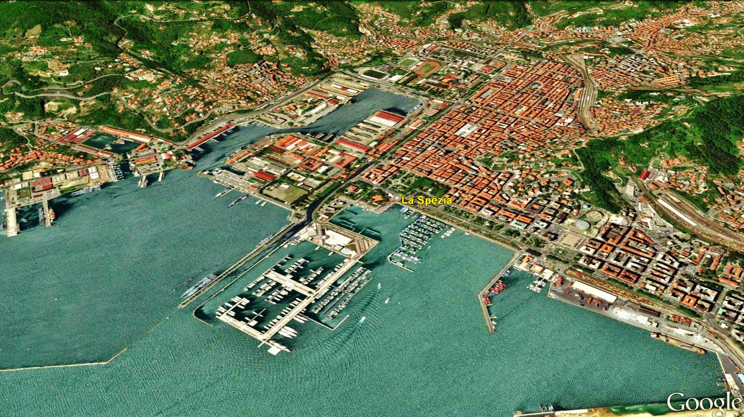 La Spezia Map 5 Google Earth martincooneycom