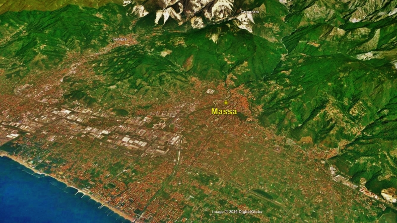 Massa Map 4 Google Earth