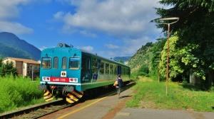 Popular Local Train, Borgo a Mozzano, Tuscany