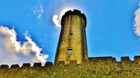 Rapunsel Tower, Castello di Malgrate, Lunigiana, Tuscany, Italy