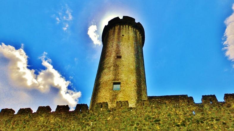 Rapunzel Tower, Castello di Malgrate, Lunigiana, Tuscany, Italy