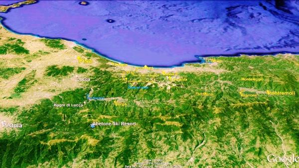 Barga Big Map 1 Google Earth
