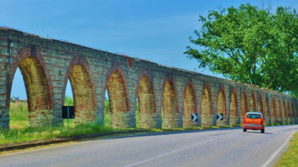 Lucca Aqueduct, Countryside Around Lucca