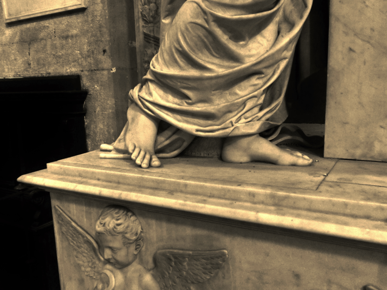 The Girl with the Golden Feet, Within the Walls of Lucca, Tuscany