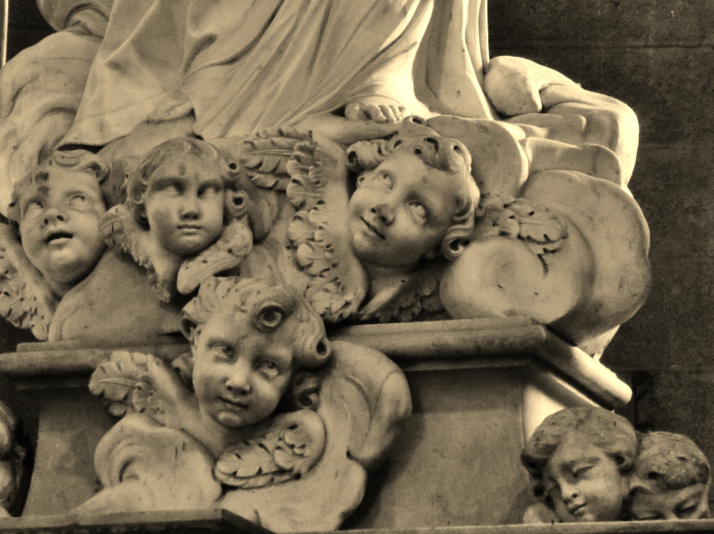 Confused Cherubs, Within the Walls of Lucca, Tuscany