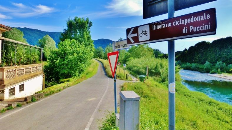 Bike Path, Countryside Around Lucca and Pisa
