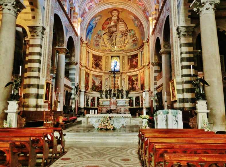 Alter, Pisa Cathedral, Tuscany, Italy