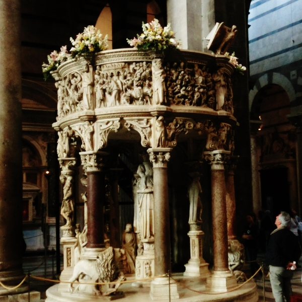Pulpit, Pisa Cathedral, Tuscany, Italy