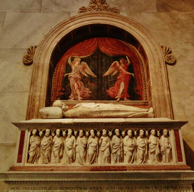 Tomb, Pulpit, Pisa Cathedral, Tuscany, Italy