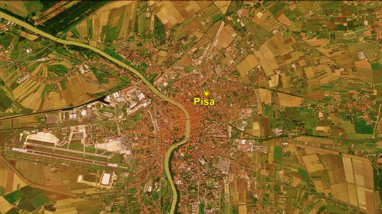 Pisa Cathedral Map 4 Google Earth Martincooney Com