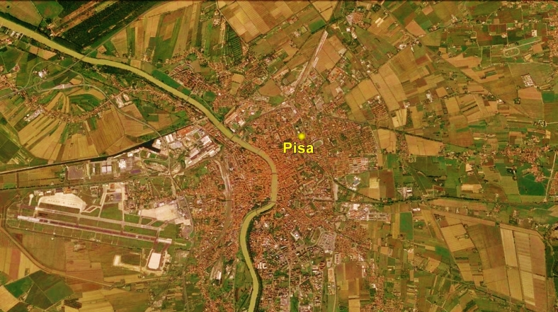 Pisa Cathedral Map 4 Google Earth