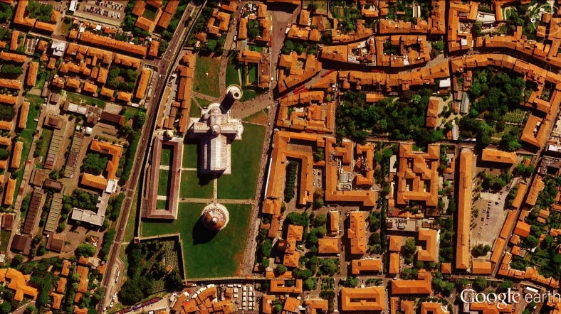 Pisa Cathedral Map 6 Google Earth