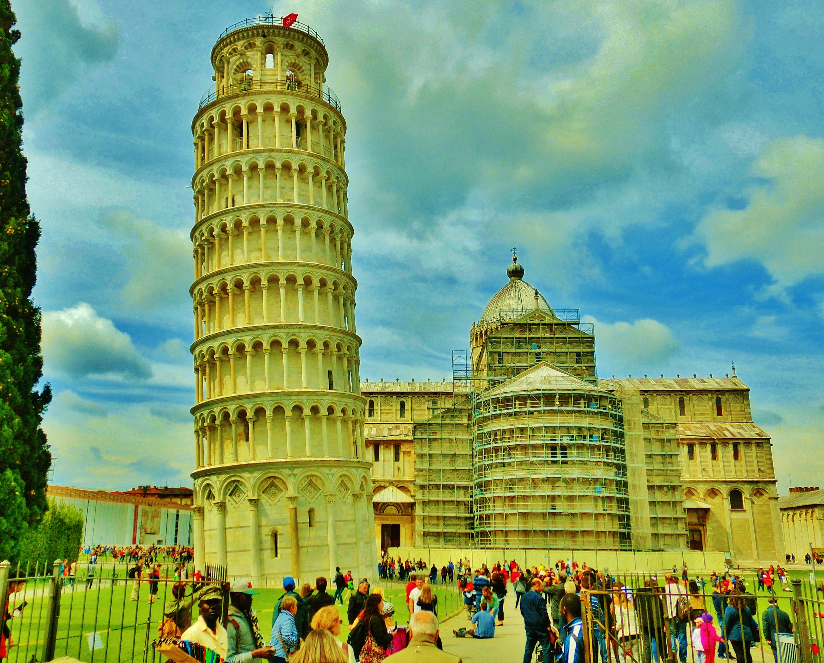 2. Leaning Tower of Pisa