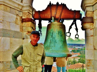 Author martincooney.com, Martin Cooney, Leaning Tower of Pisa, on the North West Tuscan Way, Italy