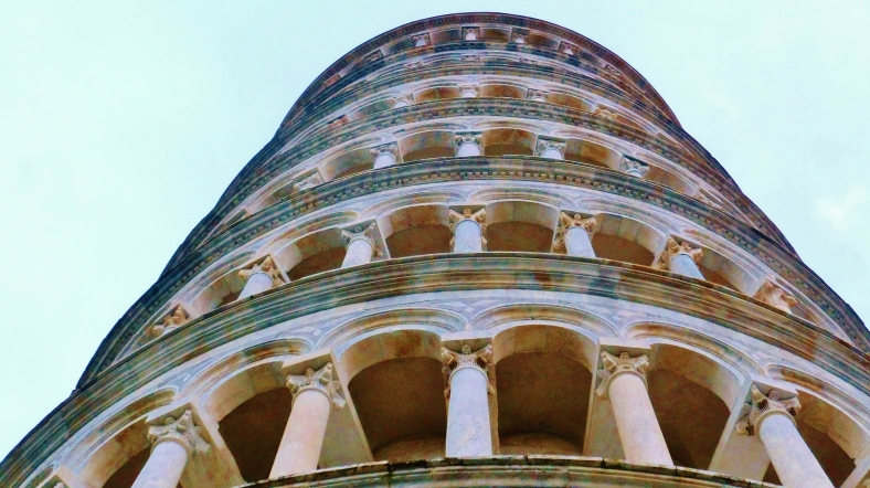 A Stroll Around The Leaning Tower of Pisa, Italy, on the North West Tuscan Way by Martin Cooney