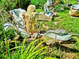 Terrible Lizard, Mabel, Snowgoyles, Dreadnought, Yule Marble Sculpture by Martin Cooney