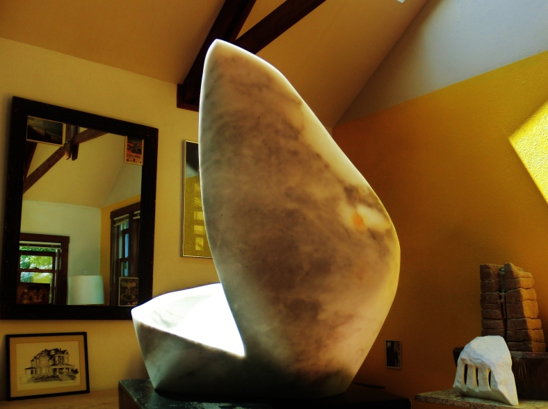 Jonah, The Maiden Collection, Colorado Yule Marble Sculpture by Martin Cooney