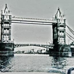 Tower Bridge, early sixties, London, England, UK.