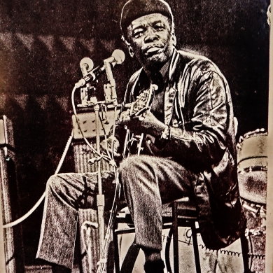 Postcard: John Lee Hooker.