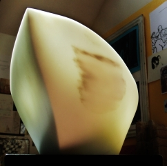 """$1,900 Titanic 20x10x10"""", The Maiden Collection, Colorado Yule Marble Sculpture by Martin Cooney,Birdhaven Studio, Woody Creek CO"""