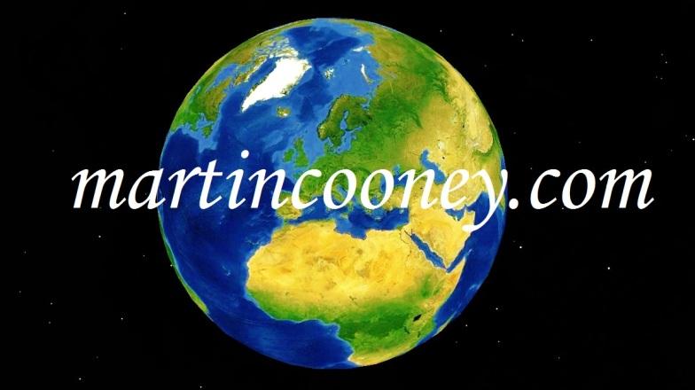MartinCooney.com logo, Google Earth