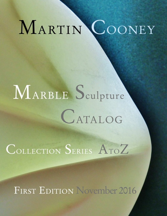 Martin Cooney Marble Sculpture Catalog Collection Series AtoZ Nov 16 front page