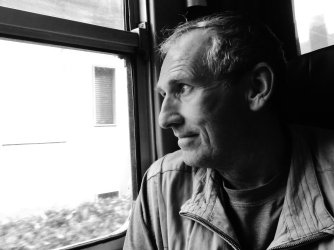 Martin Cooney, Tuscan Train, Rogue Carver on the Loose in Italy