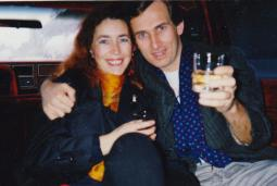 Martin Cooney with Kris, Portland, Oregon, late 1980s