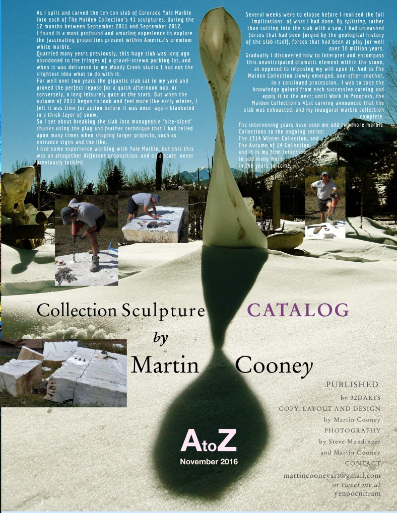 Martin Cooney Marble Sculpture Catalog Collection Series AtoZ Nov 16 page 7
