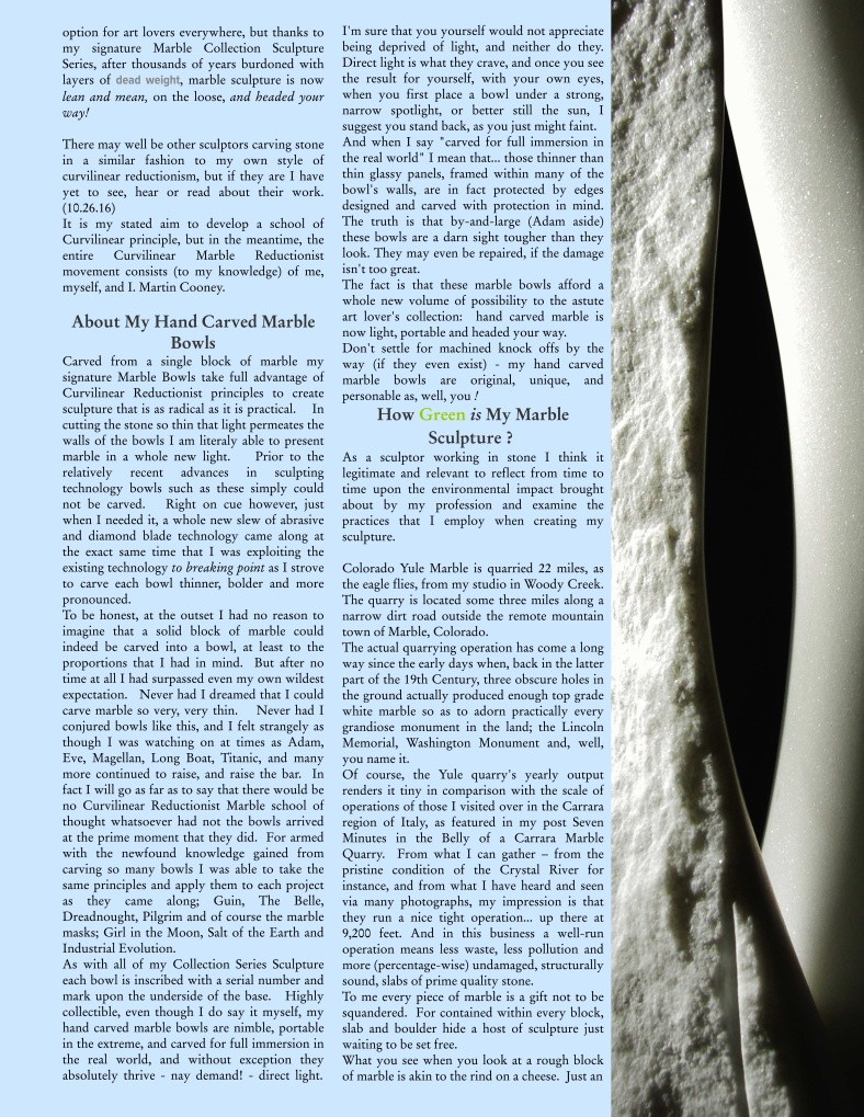 Martin Cooney Marble Sculpture Catalog Collection Series AtoZ Nov 16 page 77