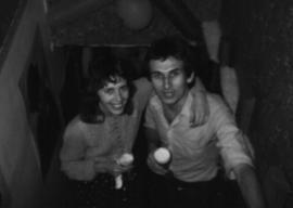 Martin Cooney, with Kris, Birthday Celebrations, Simon Benson House, Portland, Oregon.
