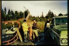 Martin Cooney with Kelly Fravel and King Salmon, Kenai, Alaska