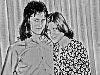 Martin Cooney with Christine Eastham 'Chris Ryan', Preston, Lancashire, England
