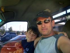 Martin Cooney with son Joseph, Colorado