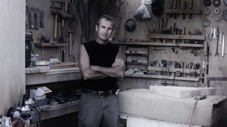 Martin Cooney, August 1st, 2004. A Brand New Studio Workshop is Born.