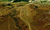 Aspen Airport, Woody Creek from Space, map 19