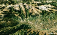 Woody Creek from Space, map 25