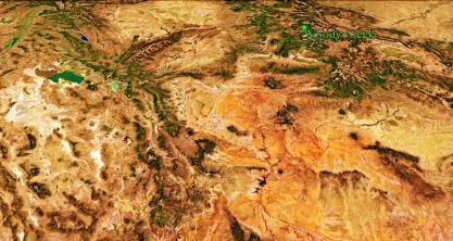 Woody Creek From Space, Google Earth, Map 11