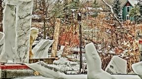 Oblique Perspective, a Snowgoyle, Mabel, Troy, Elk Mountain Bowl, Wimbledon 1973, Genesis.