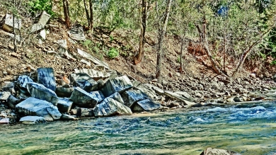 Yule Marble Breakwaters, The Crystal River, near Redstone, Colorado