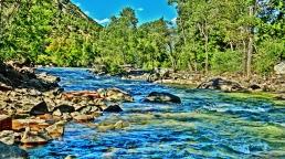 The Crystal River, near Redstone, Colorado